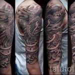 phoenix tatouage manches - une photo du tatouage fini sur 11022016 1