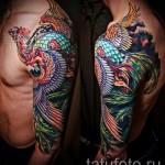 phoenix tatouage sur son bras - une photo du tatouage fini 11022016 1