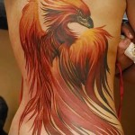 phoenix tatouage - une photo du tatouage fini sur 11022016 1