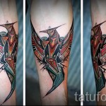 phoenix tattoo geometry - a photo of the finished tattoo on 11022016 1