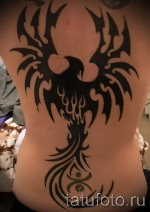 phoenix tribal tattoos 1