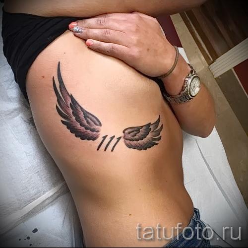 sur les bords d'ailes tatouage - par exemple Photo d'un tatouage sur 03022016 2