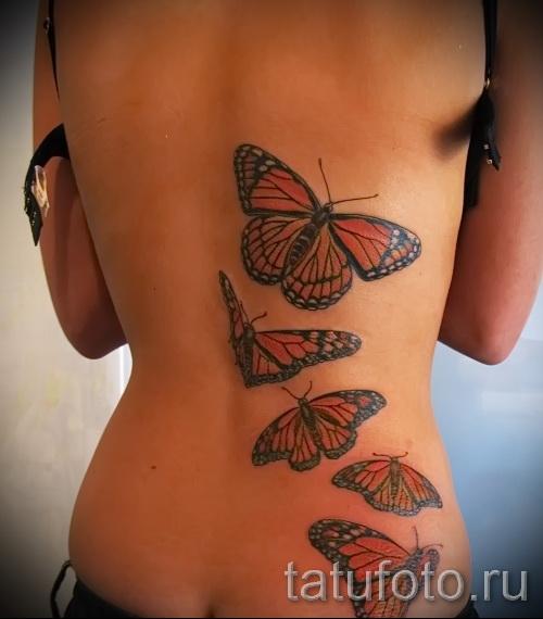 tatouage sur les bords du papillon - exemple Photo d'un tatouage sur 03022016 2
