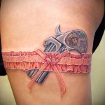 tattoo gun on his hip - examples of finished tattoo photos 01022016 4