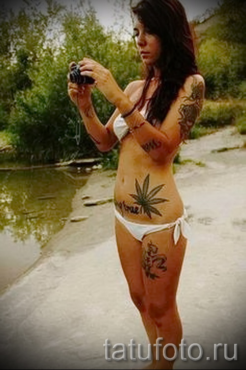 tattoo on her hip girls pictures - examples of finished tattoo photos 01022016 5