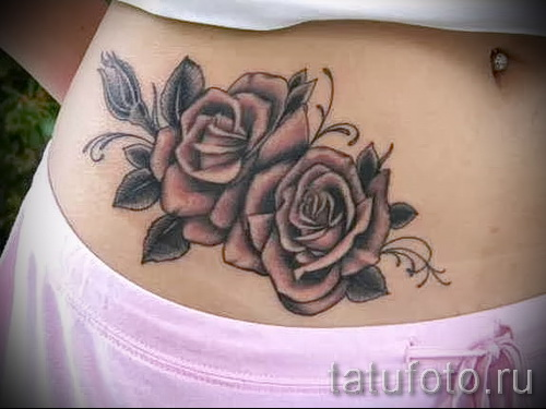 tattoo on her hip girls pictures - examples of finished tattoo photos 01022016 9
