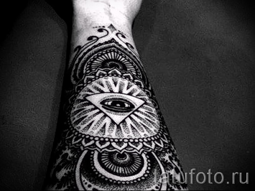 tattoo on his forearm male patterns - Photo example for the selection of 28022016 3