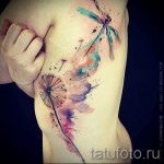 tattoo on the ribs watercolor - picture with an example of a tattoo 03022016 1