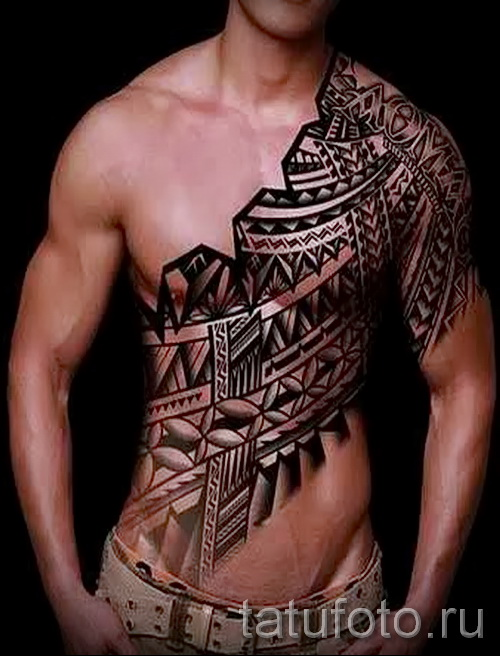 tattoo pattern on the chest - to select a photo example of 28022016 2