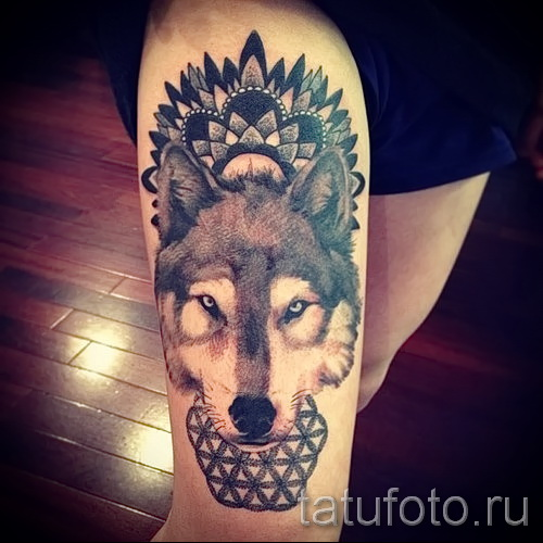 wolf tattoo pattern - Photo example for the selection of 28022016 1