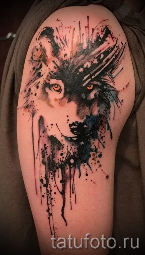 wolf tattoo pattern - Photo example for the selection of 28022016 2