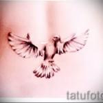 белые тату для девушек - фото с вариантом готового рисунка от 29032016 5