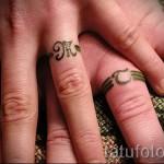 имя на пальцах тату - фото пример готовой татуировки от 06032016 11