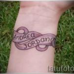 красивые тату имена - фото пример готовой татуировки от 06032016 4