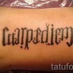тату имена на латыни - фото пример готовой татуировки от 06032016 6