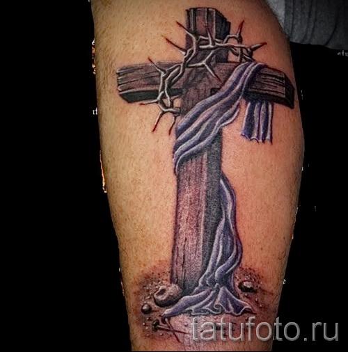 тату крест на кисти - фотографии и примеры от 01032016 1
