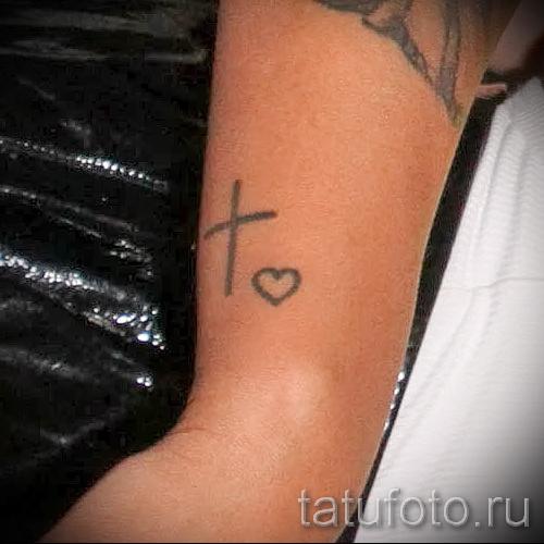 тату крест на кисти - фотографии и примеры от 01032016 15
