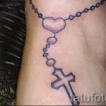 тату крест на кисти - фотографии и примеры от 01032016 8