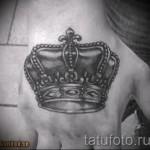 тату на кисти корона - фотографии и примеры от 01032016 10
