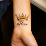 тату на кисти корона - фотографии и примеры от 01032016 14