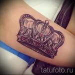 тату на кисти корона - фотографии и примеры от 01032016 17