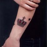 тату на кисти корона - фотографии и примеры от 01032016 19
