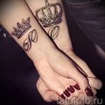 тату на кисти корона - фотографии и примеры от 01032016 21
