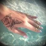 тату на кисти руки для девушек фото - фотографии и примеры от 01032016 3