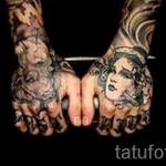 тату на кисти руки надписи - фотографии и примеры от 01032016 30