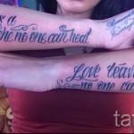 тату на кисти руки надписи - фотографии и примеры от 01032016 31