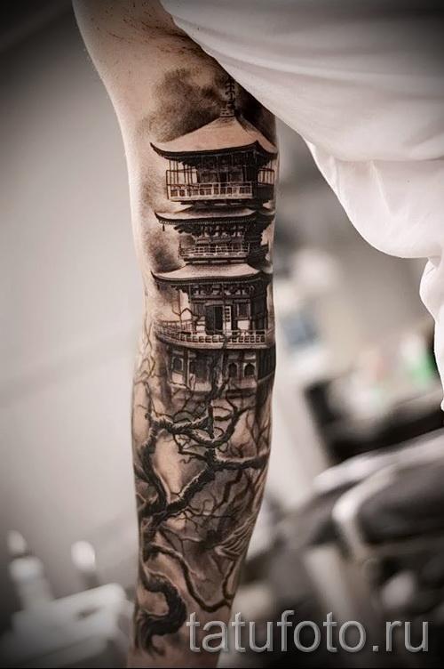 Фото татуировок на руках от локтя до кисти