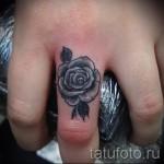 тату роза на кисти - фотографии и примеры от 01032016 13