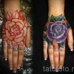 тату роза на кисти - фотографии и примеры от 01032016 6