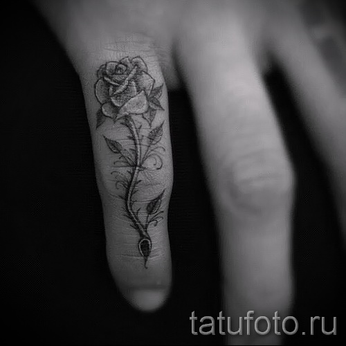 тату роза на кисти - фотографии и примеры от 01032016 8