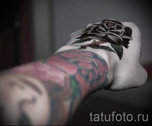 тату роза на кисти - фотографии и примеры от 01032016 9