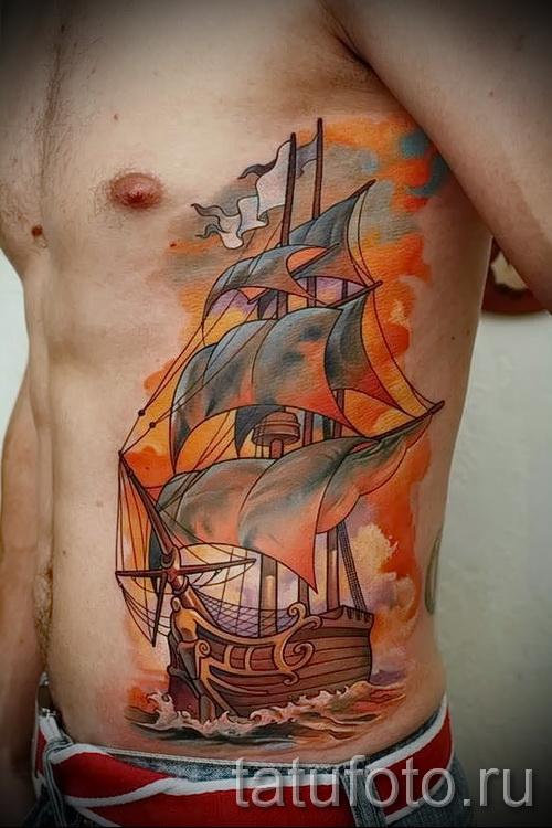тату 3д фото мужские - пример фотографии готовой татуировки от 02032016 1