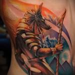 тату 3д фото мужские - пример фотографии готовой татуировки от 02032016 2