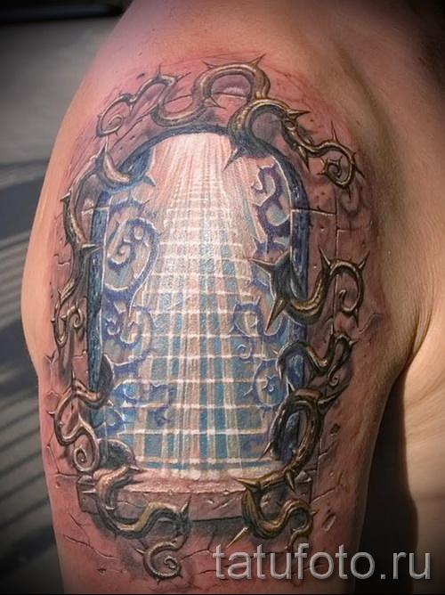 тату 3д фото мужские - пример фотографии готовой татуировки от 02032016 6