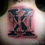 3д надпись тату - пример фотографии готовой татуировки от 02032016 4