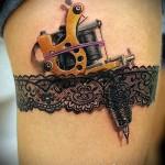 3д татуировки для девушек - пример фотографии готовой татуировки от 02032016 1