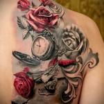 3д татуировки для девушек - пример фотографии готовой татуировки от 02032016 21