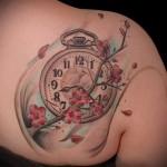 3д татуировки для девушек - пример фотографии готовой татуировки от 02032016 23