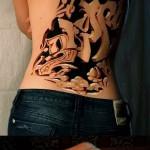 3д татуировки для девушек - пример фотографии готовой татуировки от 02032016 6