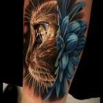 3д татуировки для девушек - пример фотографии готовой татуировки от 02032016 7