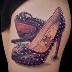 3д татуировки для девушек - пример фотографии готовой татуировки от 02032016 9
