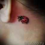 3д тату божья коровка - пример фотографии готовой татуировки от 02032016 1