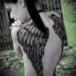 3д тату крылья - пример фотографии готовой татуировки от 02032016 4