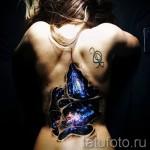 3д тату на спине - пример фотографии готовой татуировки от 02032016 2