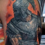 3д тату рукава - пример фотографии готовой татуировки от 02032016 3