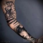 3д тату рукава - пример фотографии готовой татуировки от 02032016 5
